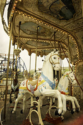 Photograph - Ride The Wild Pony by Judy Hall-Folde