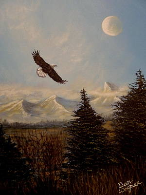Painting - Ride The Wind by Dan Wagner