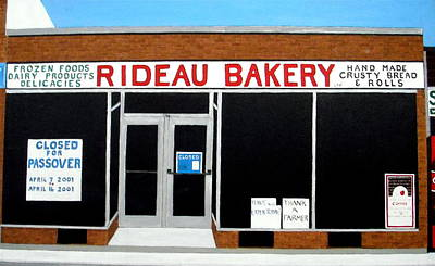 Painting - Rideau Bakery by Stephanie Moore
