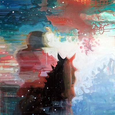 Celestial Spaces Painting - Rider by Susie Hamilton