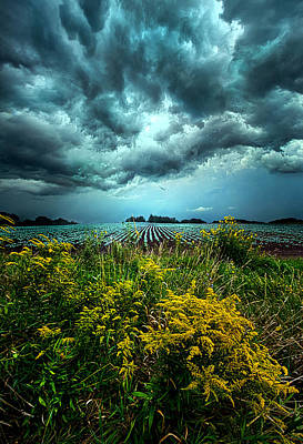 Riders On The Storm Art Print by Phil Koch