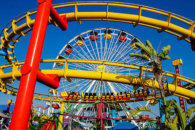 Photograph - Rides Galore by Robert Hebert