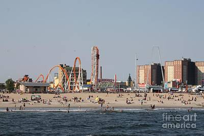 Photograph - Coney Island Rides by John Telfer