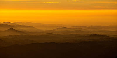 Photograph - Ridge Lines by Peter Tellone