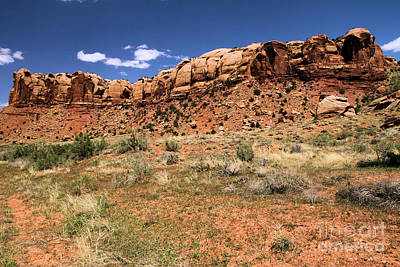Photograph - Ridge On The Canyonlands Road by Adam Jewell