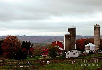Photograph - Ridge Top Farm by Christian Mattison