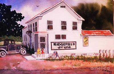 Painting - Ridgefield Country Store by Suzanne McKay