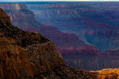 Photograph - Ridges At The Canyon From Hopi Point by Ed Gleichman