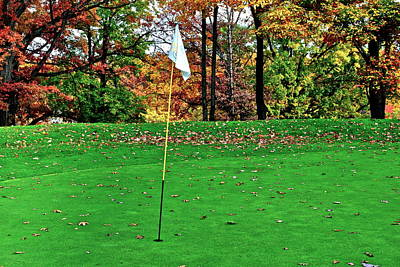 Ridgewood Golf And Country Club Art Print by Frozen in Time Fine Art Photography