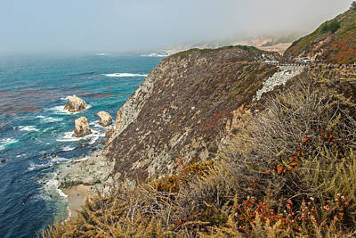 Photograph - Riding Along The Pch  California by Willie Harper