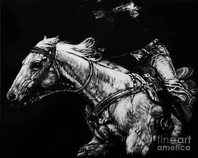 Riding As One By Karen Peterson Original by Karen  Peterson