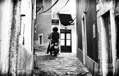 Photograph - Riding In Alfama by John Rizzuto