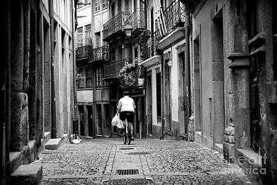 Photograph - Riding In Porto by John Rizzuto