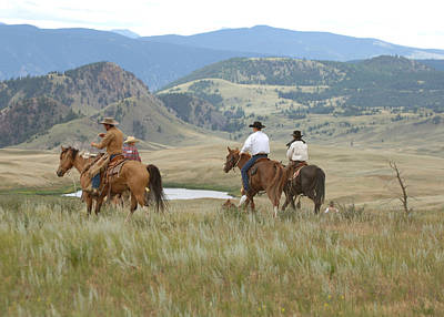 Wall Art - Photograph - Riding The Big Country by Lee Raine