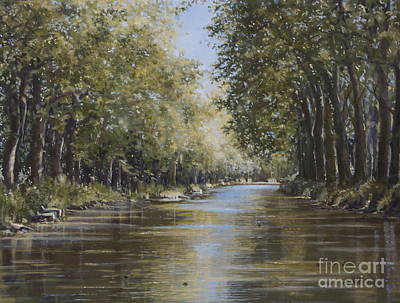 Painting - The Canal by Margit Sampogna