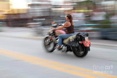 Riding The Daytona Winds Art Print by J Michael Johnson Photography