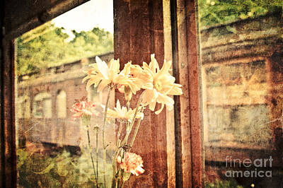 Photograph - Riding The Rails by Julie Clements