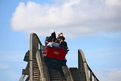 Photograph - Riding The Roller Coaster by Denise Mazzocco