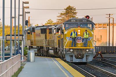 Photograph - Riding The Train by Jim Thompson