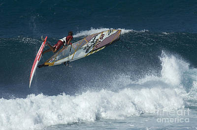 Laird Hamilton Photograph - Riding The Wind by Bob Christopher