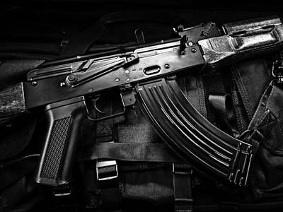 Tactical Photograph - Rifle Ak 74 Bw by Raphael Campelo