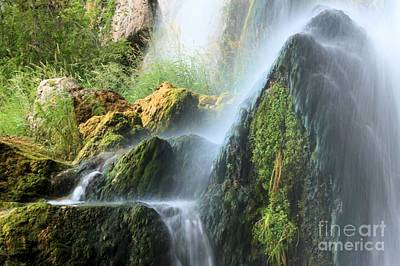 Photograph - Rifle Falls Spray by Adam Jewell