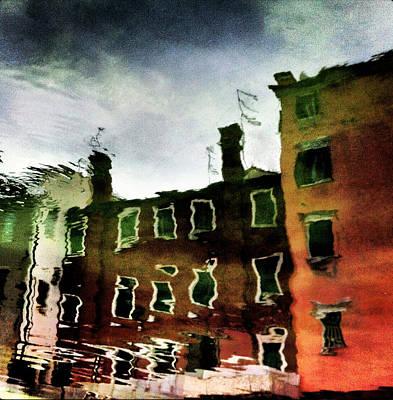 Veneta Photograph - riflessi di Chioggia by Sergio Mantello