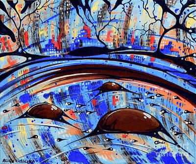 Painting - Riflesso by Alice Alicja Cieliczka