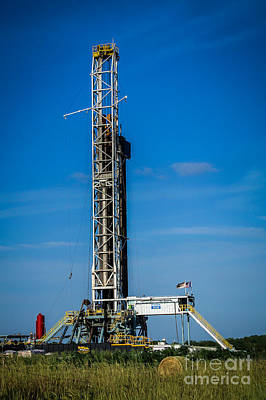 Photograph - Rig 375 by Jim McCain
