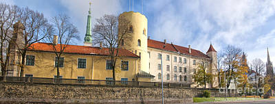 Fantasy Royalty-Free and Rights-Managed Images - Riga Castle 01 by Antony McAulay