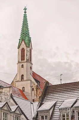 Riga St Johns Church Art Print by Antony McAulay