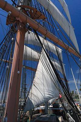 Sails Photograph - Rigging All Over by Scott Campbell