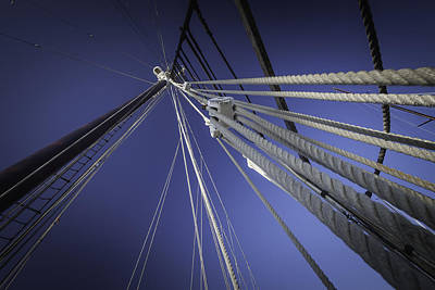 Photograph - Rigging by Dave Hall