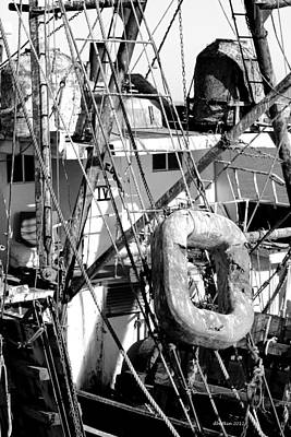 Photograph - Rigging by Dick Botkin
