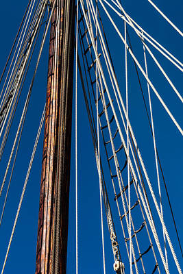 Photograph - Rigging by Ed Gleichman