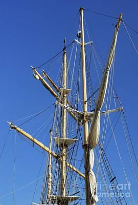 Photograph - Rigging by Wendy Wilton