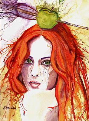 D. Renee Wilson Painting - Right On Target by D Renee Wilson