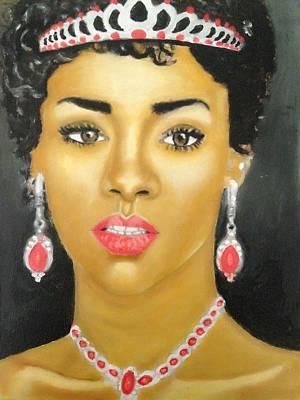 Rihanna Painting - Rihanna  by Abiodun Bewaji