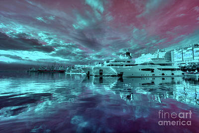 Cabin Cruiser Photograph - Rijeka Surreal  by Rob Hawkins
