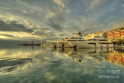 Cabin Cruiser Photograph - Rijeka Yachts  by Rob Hawkins