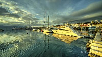 Cabin Cruiser Photograph - Rijekan Reflections by Rob Hawkins