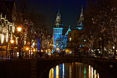 Rijksmuseum At Night Art Print