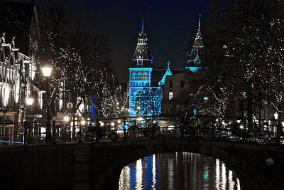 Rijksmuseum In Blue Art Print