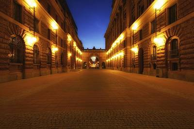 Photograph - Riksgatan In Summer Twilight - Stockholm - Sweden by Photography  By Sai