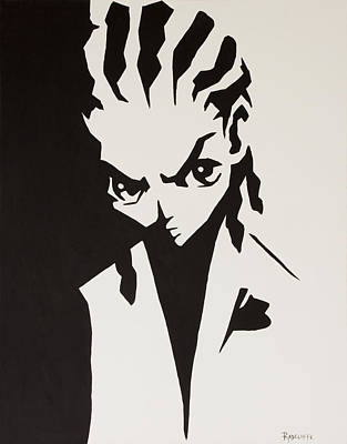 Boondocks Painting - Riley by Travis Radcliffe