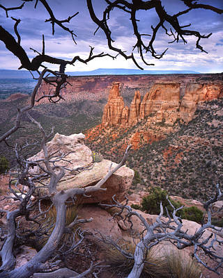 Photograph - Rim Drive View by Ray Mathis