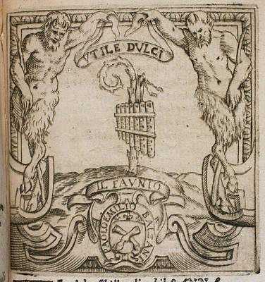 Rime De Gli Academici Gelati Di Bologna Art Print