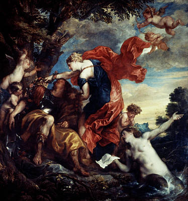 Painting - Rinaldo And Armida by Granger