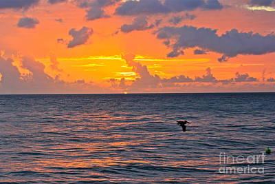 Rincon Sunset Art Print