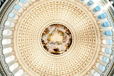 Politicians Royalty-Free and Rights-Managed Images - Ring Around the Capitol by Greg Fortier